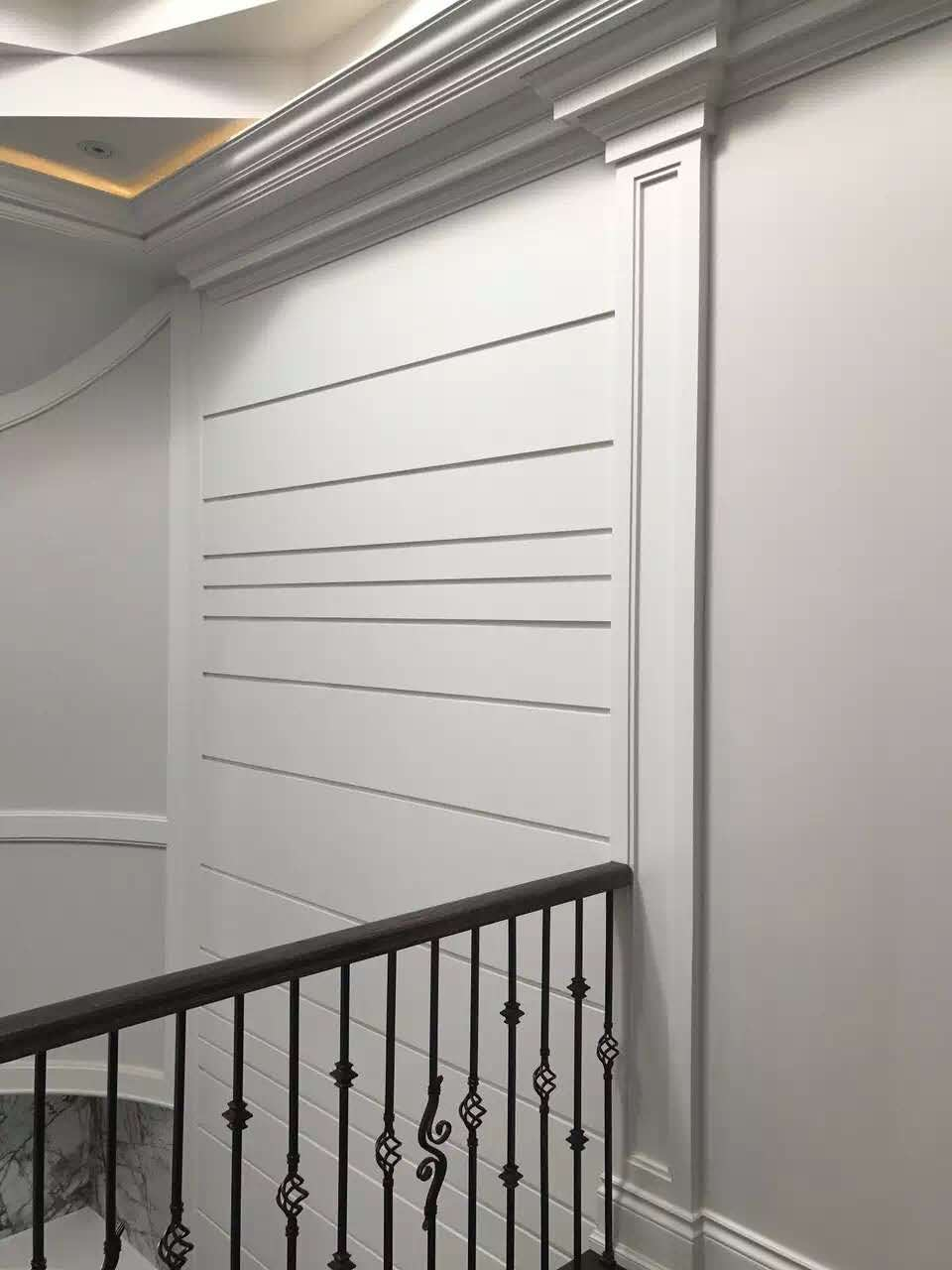 Accent Wall In A Custom Build Home In Oakville